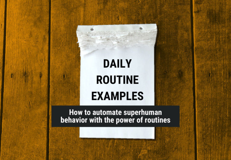 daily routine examples featured image