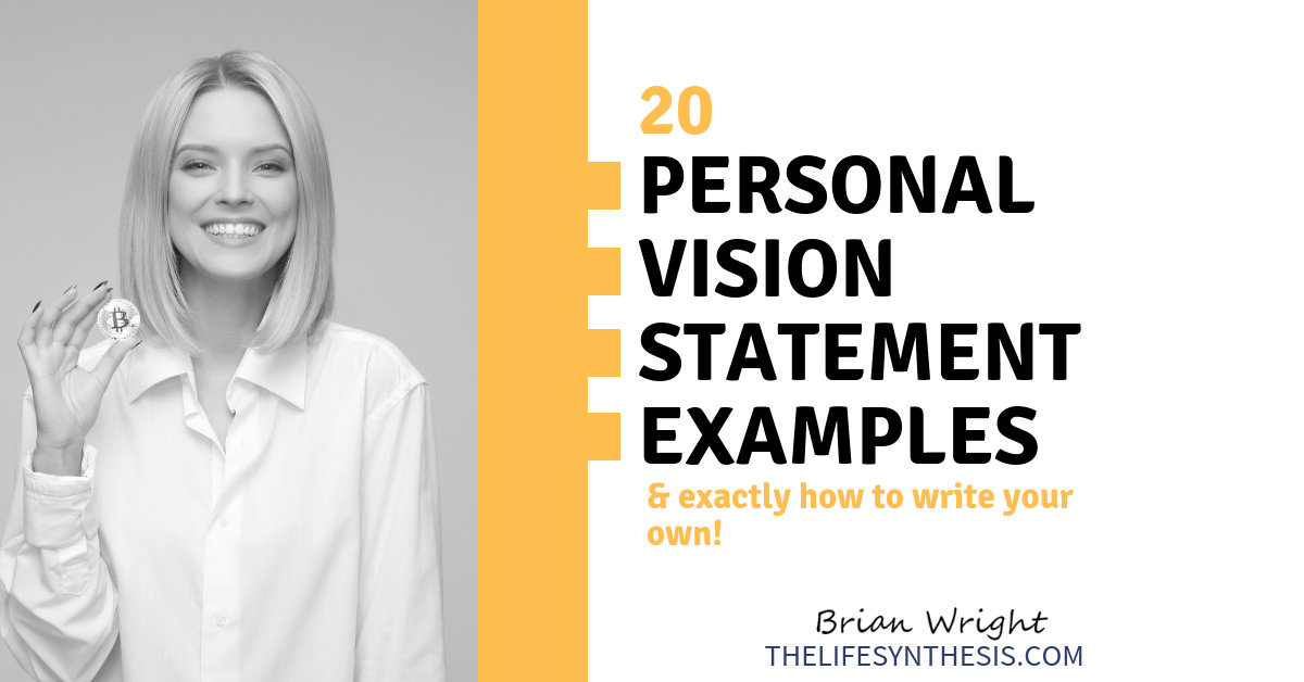 personal vision statement examples  7 impactful models